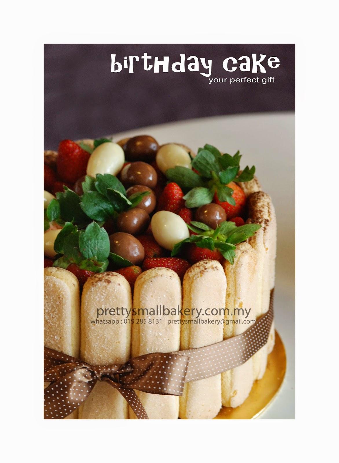 Kek Harijadi Yang Berkhasiat Meriah Dan Cantik Prettysmallbakery